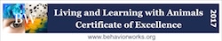 Living and Learning with Animals Logo